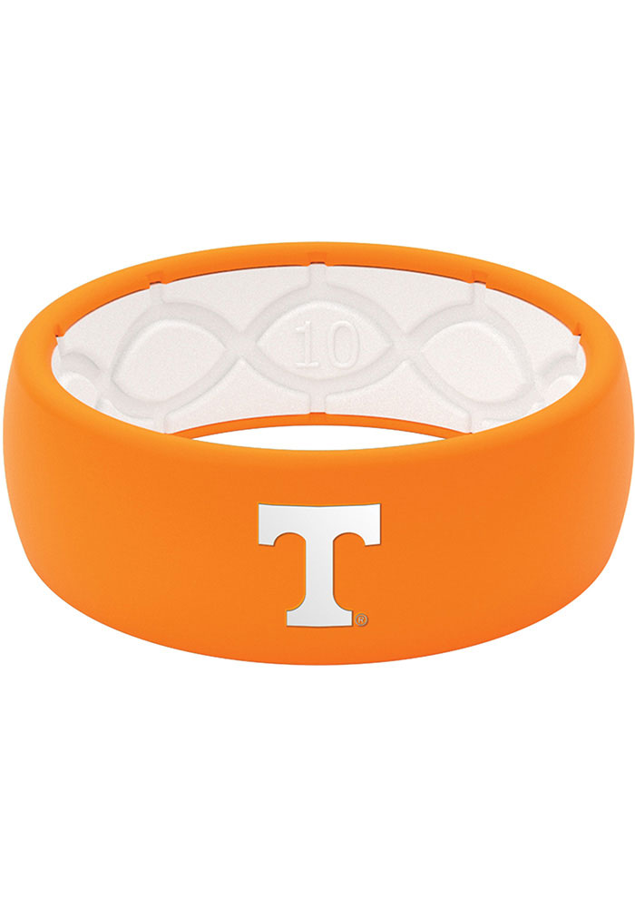 Tennessee Volunteers Full Color Silicone Mens Ring - Image 1