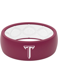Troy Trojans Full Color Silicone Ring - Red