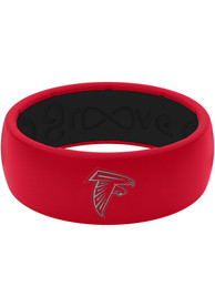 Atlanta Falcons Full Color Silicone Ring - Red
