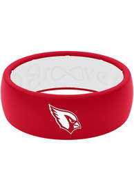 Arizona Cardinals Full Color Silicone Ring - Red