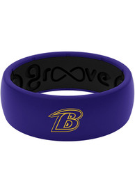 Baltimore Ravens Full Color Silicone Ring - Purple