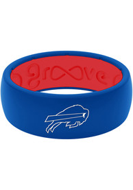 Buffalo Bills Full Color Silicone Ring - Blue