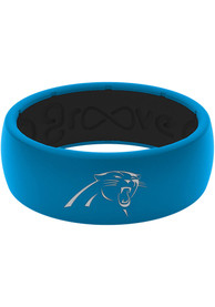 Carolina Panthers Full Color Silicone Ring - Blue