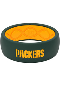 Green Bay Packers Full Color Silicone Ring - Green