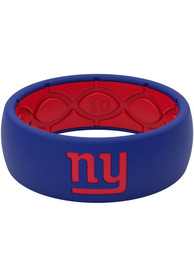 New York Giants Full Color Silicone Ring - Blue