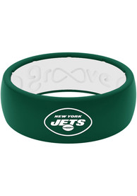 New York Jets Full Color Silicone Ring - Green
