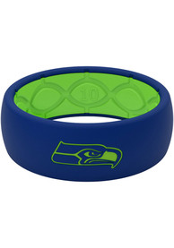 Seattle Seahawks Full Color Silicone Ring - Green