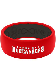 Tampa Bay Buccaneers Full Color Silicone Ring - Red