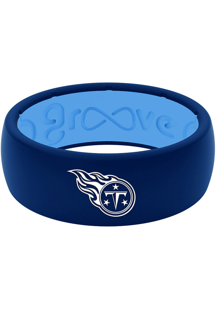 Tennessee Titans Full Color Silicone Mens Ring - Image 2