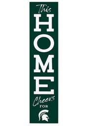 Michigan State Spartans Home Leaner Porch Sign