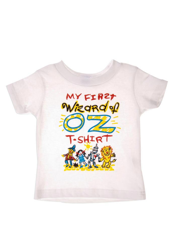 Wizard of Oz Baby White My First Oz Short Sleeve Tee - Image 1