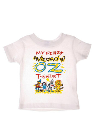 Wizard of Oz White Short Sleeve T-Shirt