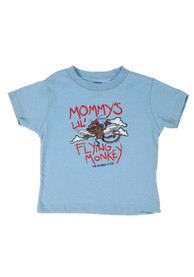 Flying Monkey Wizard of Oz Infant T-Shirt - Light Blue