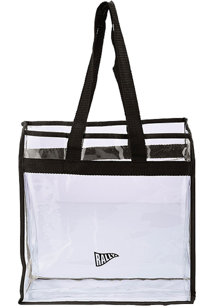 RALLY White Stadium Approved Clear Bag - Image 1