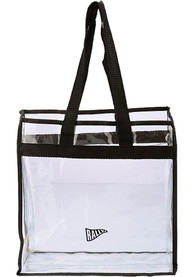 RALLY White Stadium Approved Clear Bag