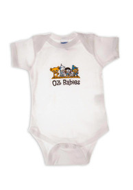 Wizard of Oz Baby White Oz Character Babies One Piece
