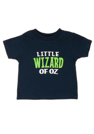 Wizard of Oz Toddler Navy Blue Little Wizard Of Oz Short Sleeve T Shirt