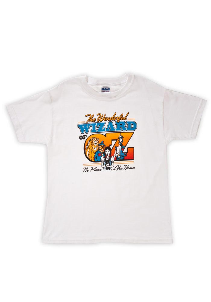 Wizard of Oz Youth White Classic Short Sleeve T Shirt - Image 1