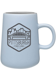 Pittsburgh City Trapezoid Design Mug