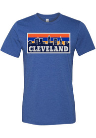Cleveland Blue Pasta Skyline Short Sleeve T Shirt