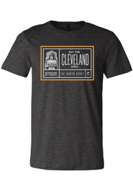 Cleveland Dark Grey Guardians Short Sleeve T Shirt
