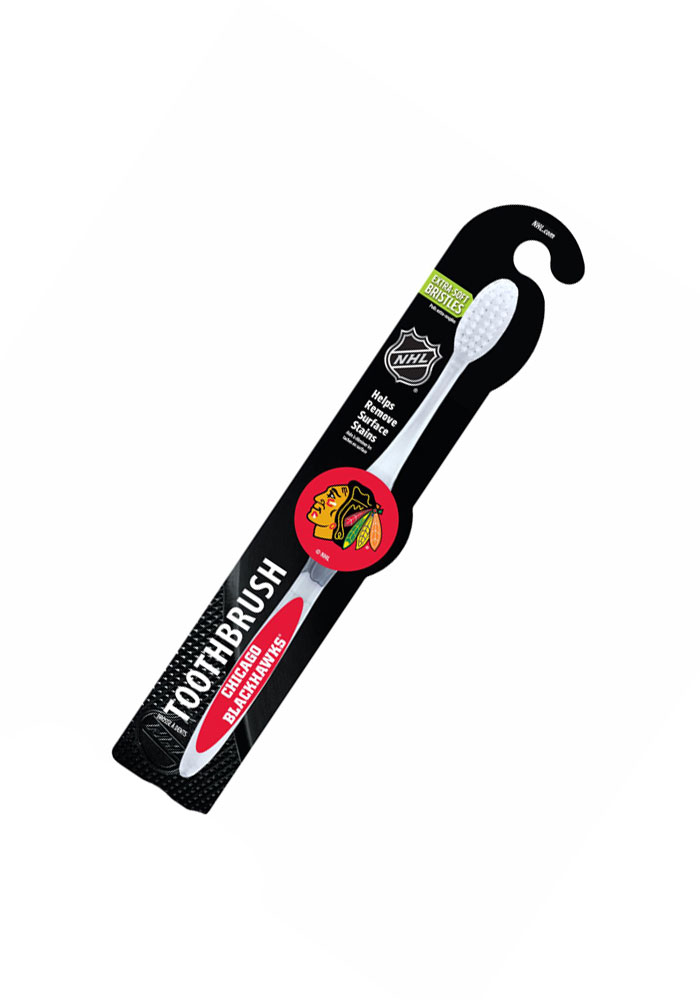 Chicago Blackhawks Team Logo Toothbrush - Image 1