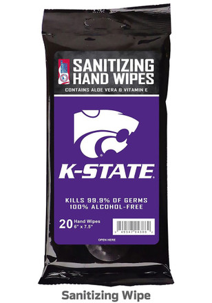 K-State Wildcats Sanitizing Wipes Hand Sanitizer