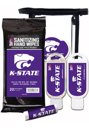 K-State Wildcats Travel Set Cosmetics