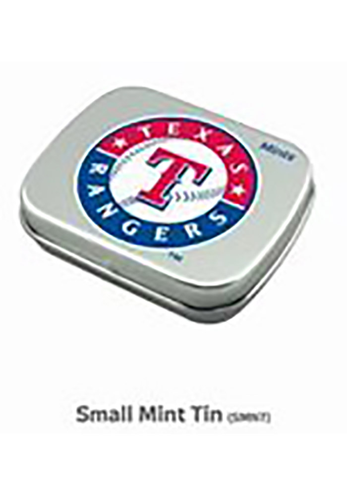 Texas Rangers Mint Tin Candy - Image 1