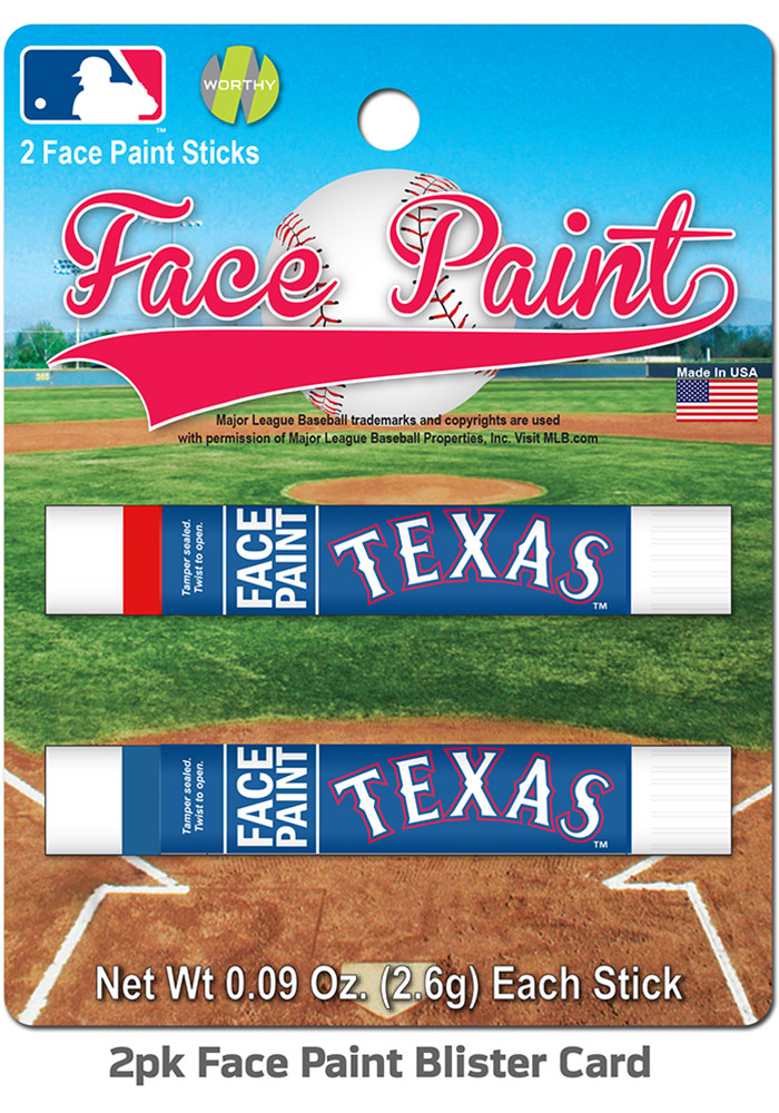 Texas Rangers 2-Pack Face Paint - Image 1