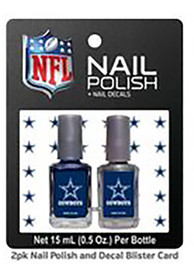 Dallas Cowboys Nail Polish Decal Set Cosmetics