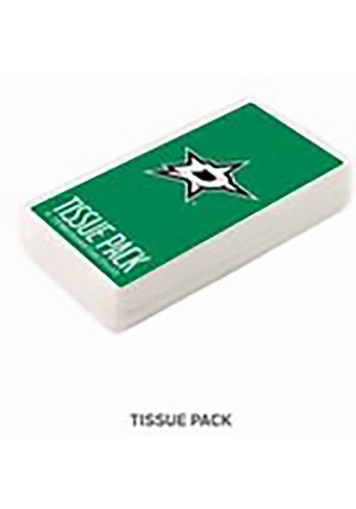 Dallas Stars Team Logo Tissue Box - Image 1