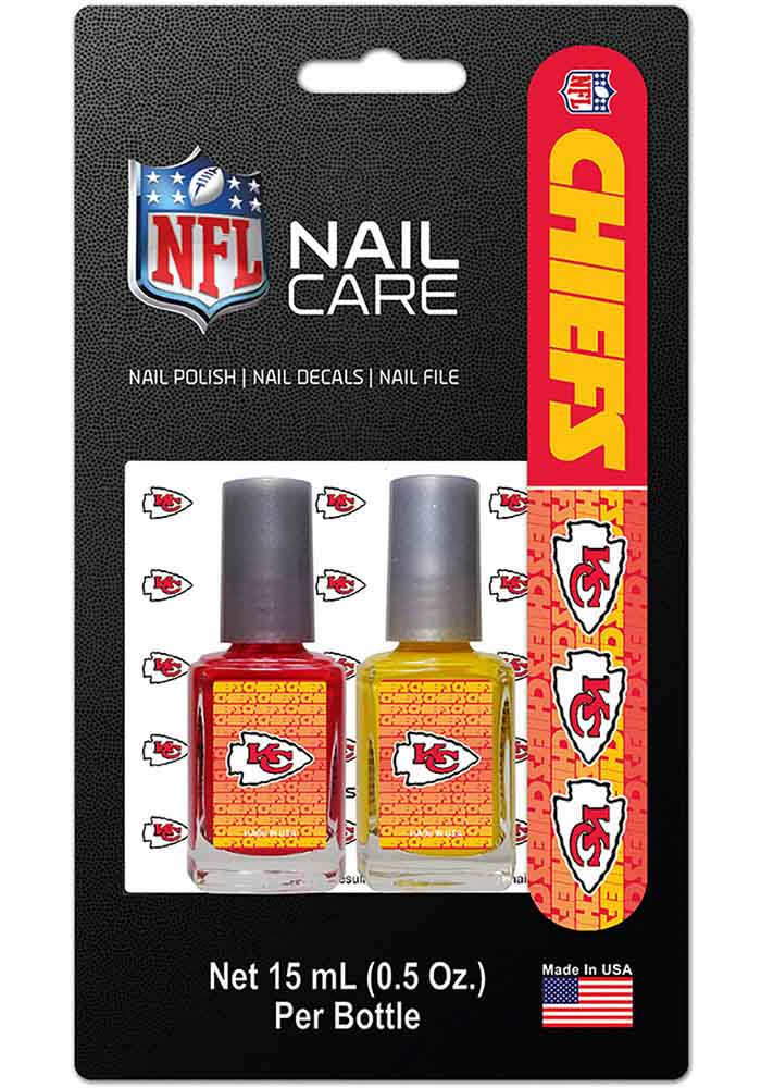 Kansas City Chiefs Nail Care Set Cosmetics - Image 1