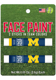 Michigan Wolverines 2 Pack Team Color Face Paint