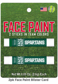 Michigan State Spartans 2 Pack Team Color Face Paint