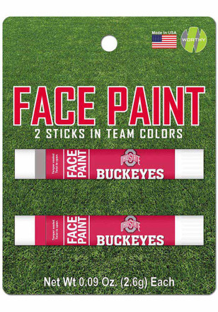 Ohio State Buckeyes 2 Pack Team Color Face Paint