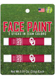 Oklahoma Sooners 2 Pack Team Color Face Paint