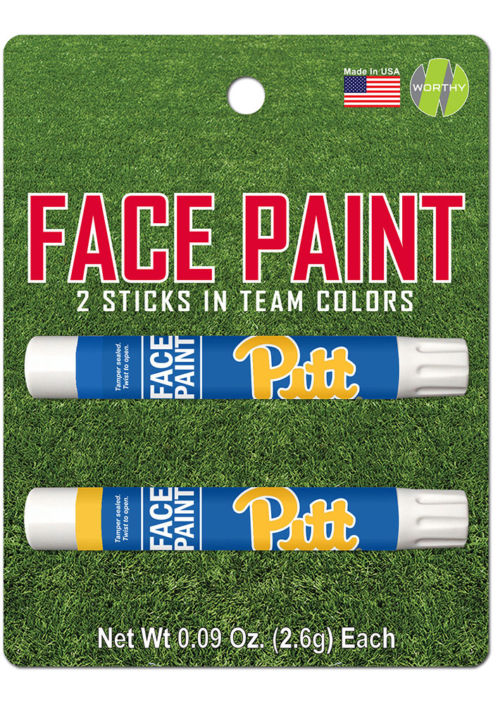 Pitt Panthers 2 Pack Team Color Face Paint - Image 1