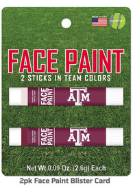 Texas A&M Aggies 2 Pack Team Color Face Paint