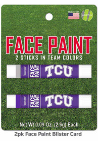 TCU Horned Frogs 2 Pack Team Color Face Paint