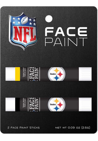 Pittsburgh Steelers Team Colors Face Paint