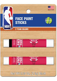 Chicago Bulls 2 Pack Team Color Face Paint