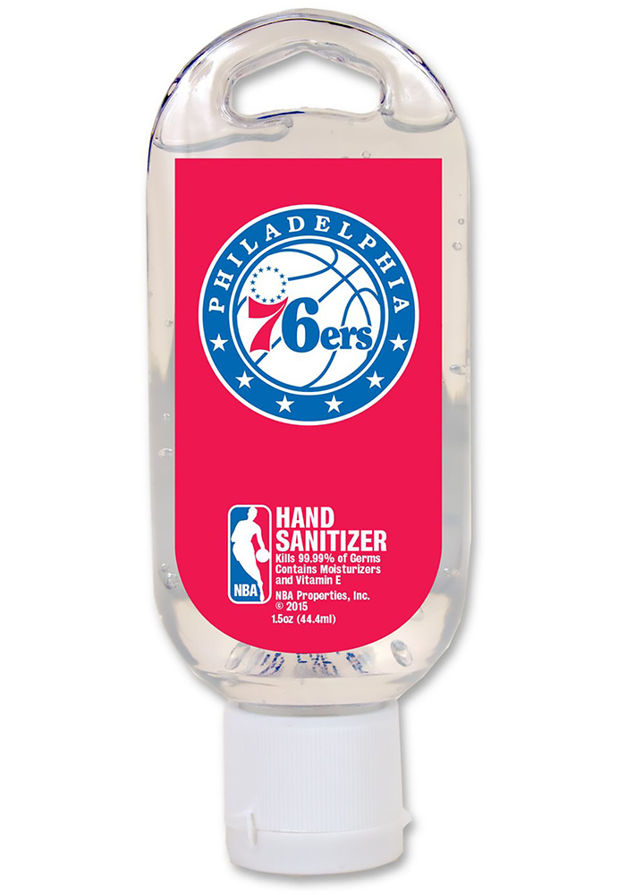 Philadelphia 76ers Sanitizer Hand Sanitizer - Image 1