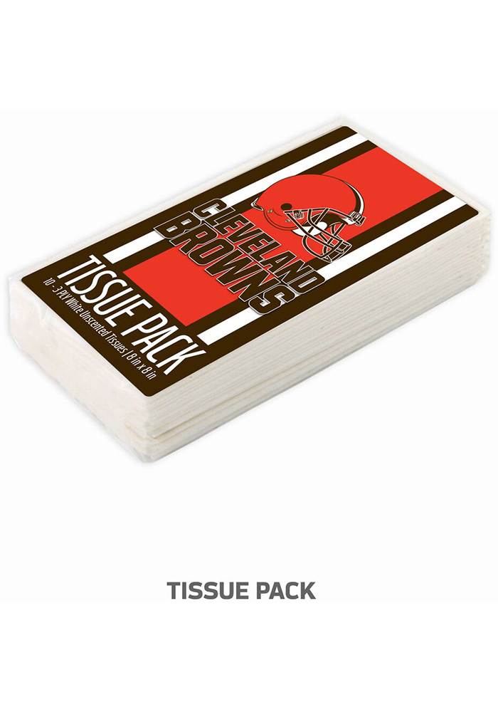 Cleveland Browns Tissues Tissue Box - Image 1