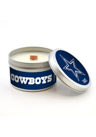 Dallas Cowboys Citrus 5.8oz Travel Tin Candle Bathroom Decor