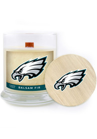 Philadelphia Eagles Balsam Fir 8oz Glass Candle Bathroom Decor