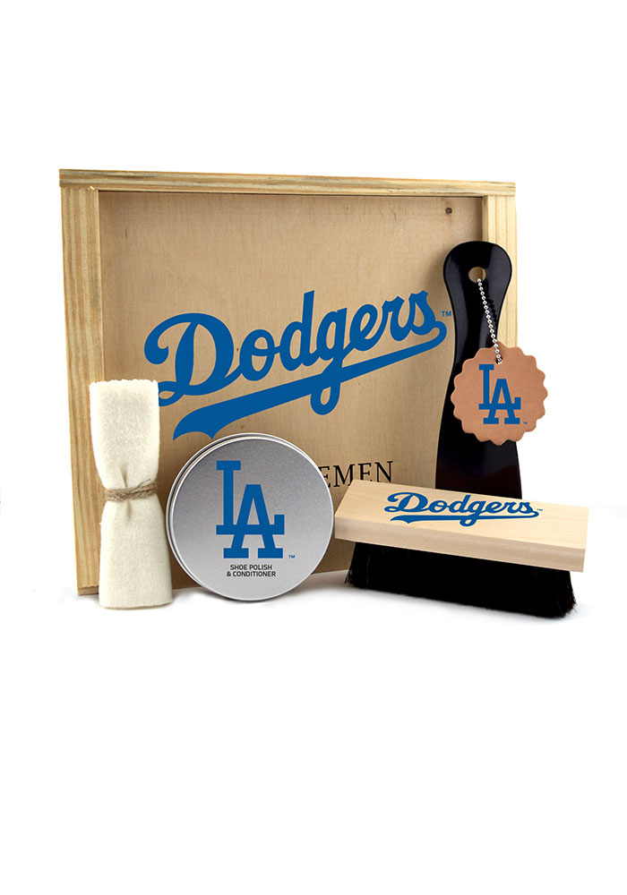 Los Angeles Dodgers Gentlemen's Shoe Kit Bathroom Set - Image 1