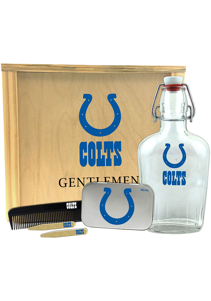 Indianapolis Colts Gentlemens Toiletry Kit Bathroom Set - Image 1