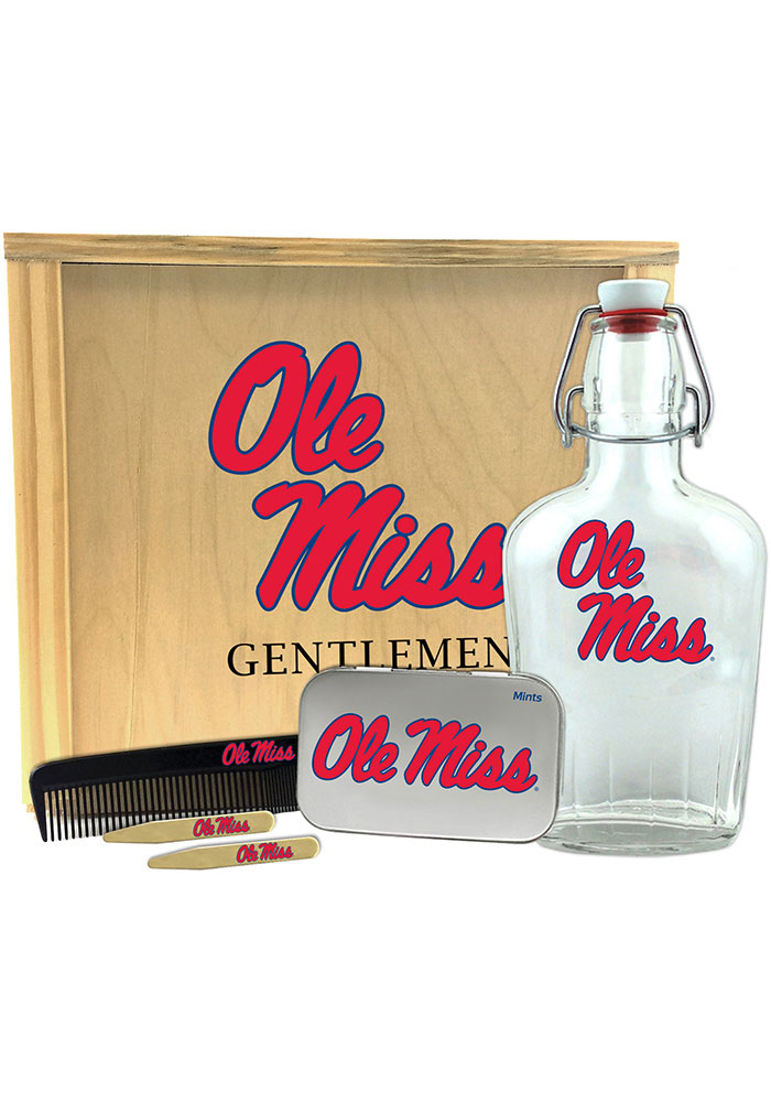 Ole Miss Rebels Gentlemens Toiletry Kit Bathroom Set - Image 1