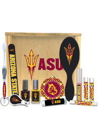 Arizona State Sun Devils Womens Beauty Gift Box Bathroom Set